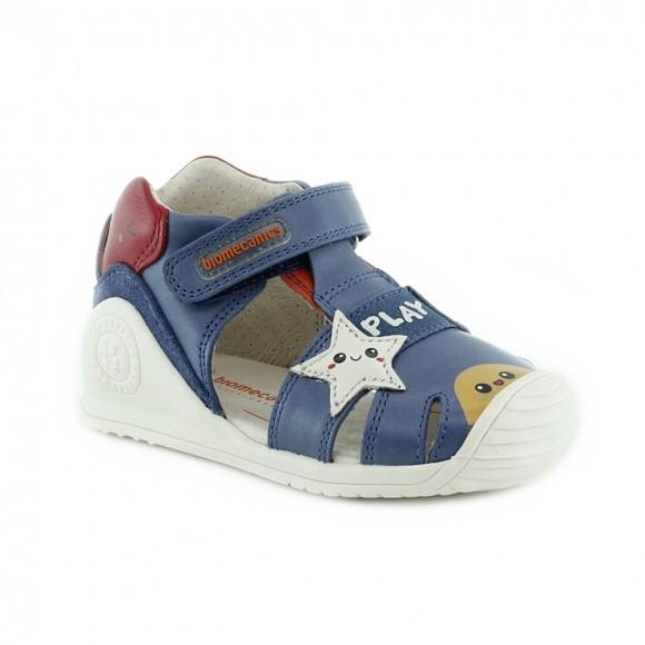 Sandalias de niño Biomecanics 212140-A Jeans