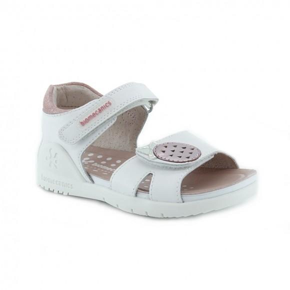 Sandalias de niña Biomecanics 202163-B Blanco