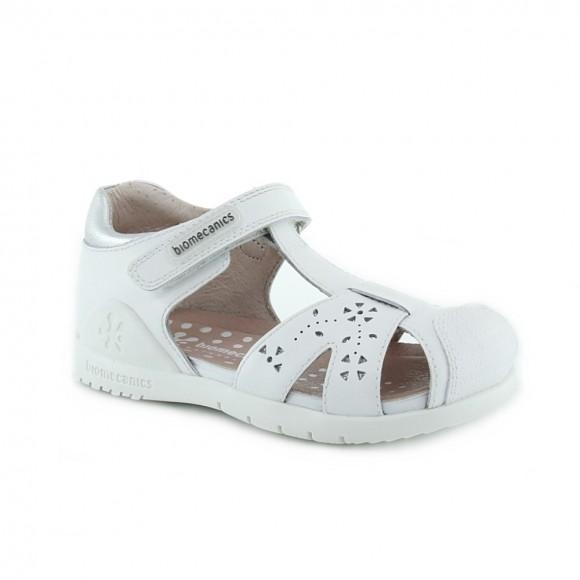 Sandalias de niña Biomecanics 202135-B Blanco
