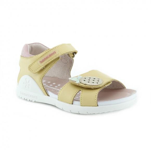 Sandalias de niña Biomecanics 212163-A Amarillo