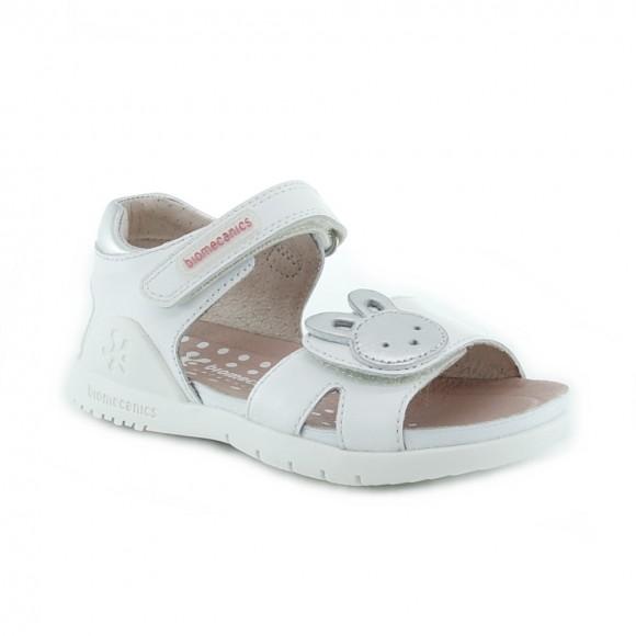Sandalias de niña Biomecanics 212163-B Blanco