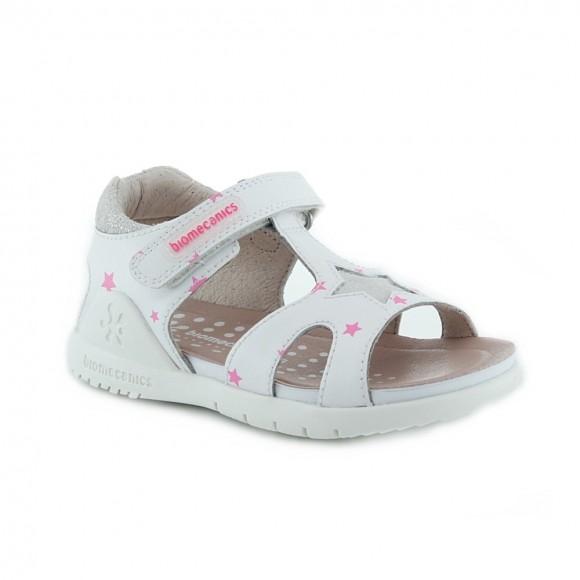 Sandalias de niña Biomecanics 212169-B Blanco