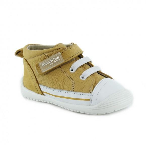 Zapato respetuoso Blanditos 961 Mostaza.
