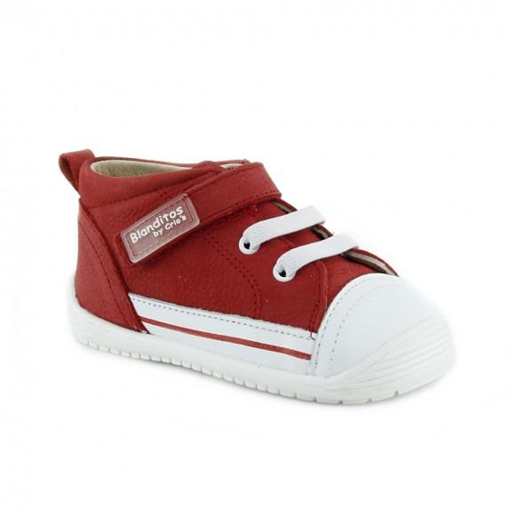 Zapato respetuoso Blanditos 961 Rojo