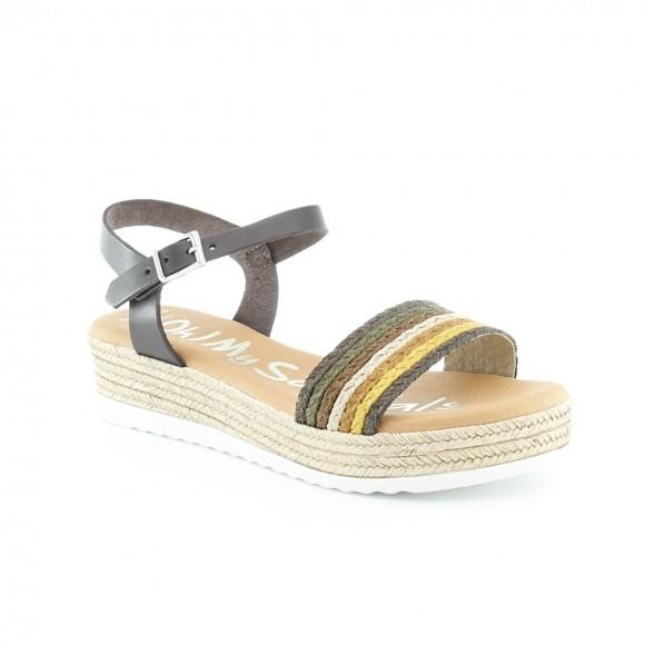 Sandalias Oh my Sandals 4841 Multicolor Marrón