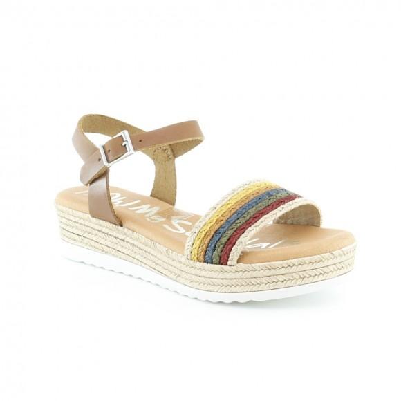 Sandalias Oh my Sandals 4841 Multicolor cuero.