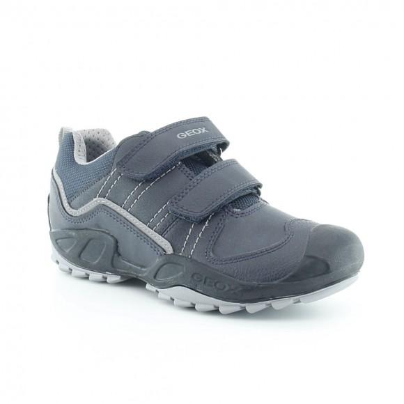 Zapatos Geox Savage Azul-Gris