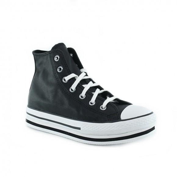Zapatillas Converse Plataform bota Chuck Taylor Negro