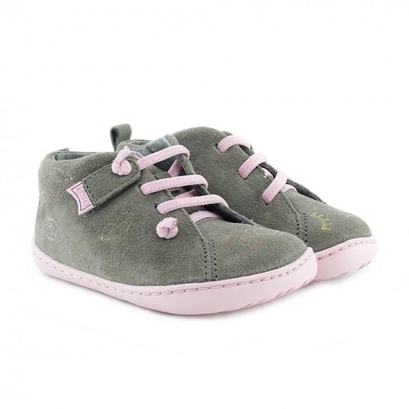 Zapatos Camper kids Twins Marrón-Rosa
