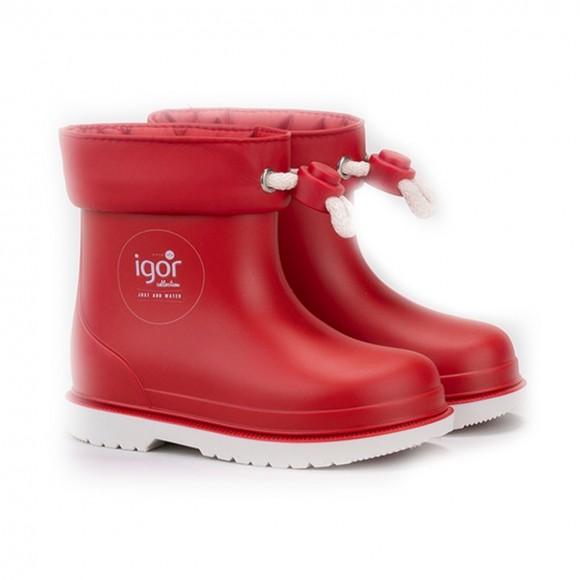 Botas de agua Igor Bimbi Rojo