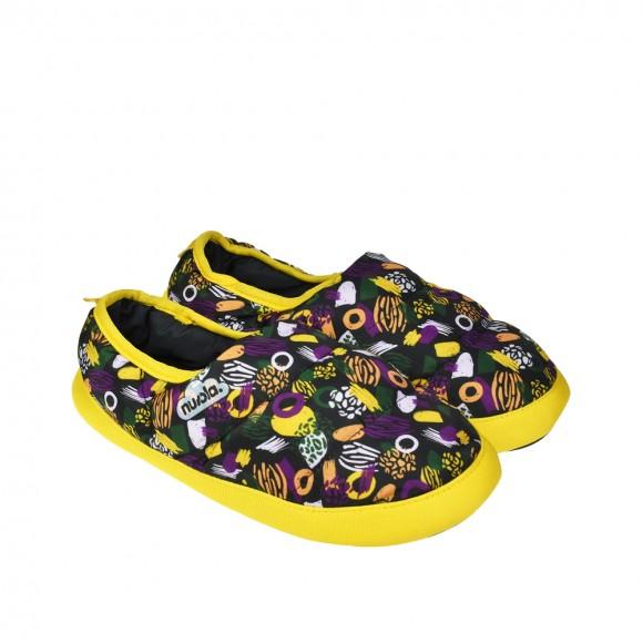 Zapatillas de casa Nuvola Printed Guix Amarillo