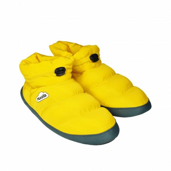 Zapatillas de casa Nuvola Boot Party Amarillo