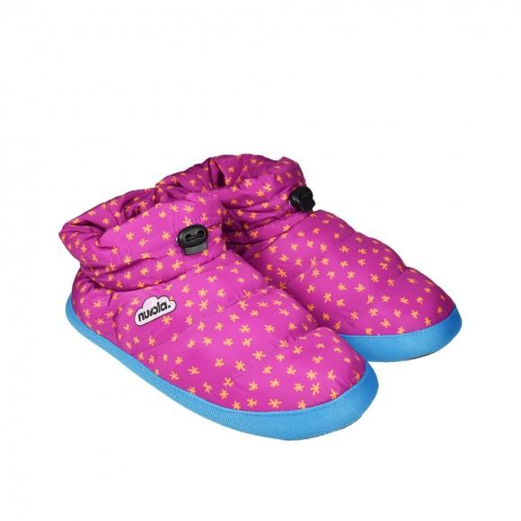 Zapatillas de casa Nuvola Boot Printed Fucsia